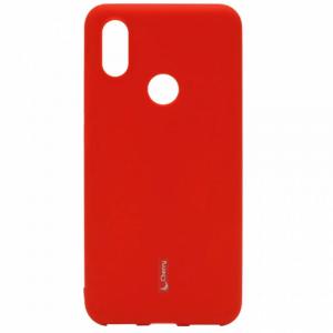 Силиконовая накладка Cherry для Xiaomi Mi-8 LiTE (2018) красный