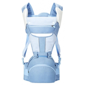 Рюкзак-кенгуру Yung Multifunctional Baby Btraps 60-120cm (голубой)