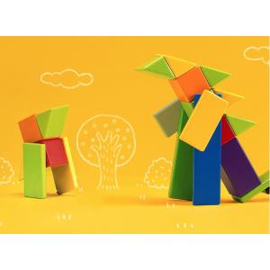 Деревянный конструктор Mitu Magnetic Building Blocks