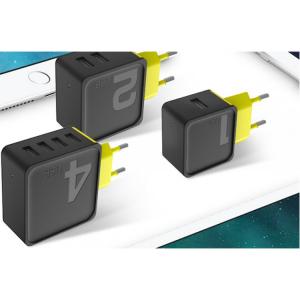 Сетевой блок питания Rock Sugar Travel Charger 4 USB, 4A (RWC0236)