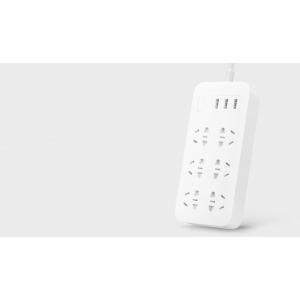 Удлинитель Xiaomi Qingyue Молниезащита прозрачная версия Power Strip (6 розеток, 3 USB)