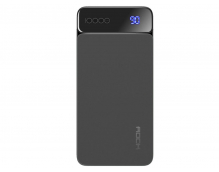 Внешний аккумулятор Rock P38 Wireless Charging Power Bank with Digital Display 8000mAh (серый)