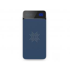 Внешний аккумулятор Rock P38 Wireless Charging Power Bank with Digital Display 8000mAh (голубой)