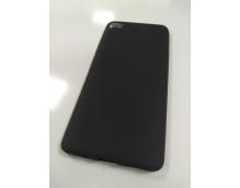 Чехол силиконовый для Xiaomi Mi5S Черный матовый