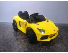 Детский электромобиль Lamborghini Yellow