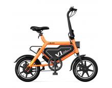 Велогибрид Xiaomi HIMO V1 PLUS 36V7.8Ah 14 дюймов (сочный апельсин)