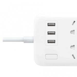 Удлинитель Xiaomi Mi Power Strip 6 Sockets / 3 USB Ports White