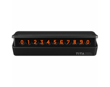 Парковочная карта Xiaomi TITA Temporary Parking Card mini Black
