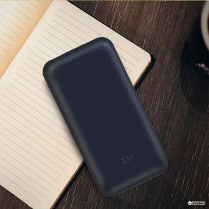 Внешний аккумулятор Power Bank Xiaomi Mi ZMI 10 20000 mAh (Black)
