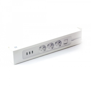 Удлинитель Xiaomi Mi Power Strip 3 розетки, 3USB (XMCXB04QM) (International)
