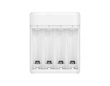 Зарядное устройство Xiaomi ZMI White с аккумуляторами АА 4 шт (PB401)